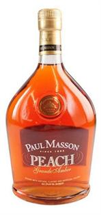 Paul Masson Brandy Grande Amber Peach 750ml - Case of 12